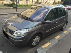 Renault scénic 2 acheté en Mars 2015
